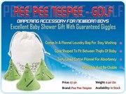 Buy Pee Pee Teepee for Baby Boys @ USD 7.50