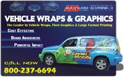 Vehicle Wraps & Graphics Installation Service
