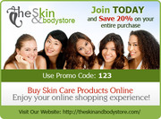 Get 20% OFF on ALL Skin Care Products