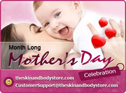 Celebrate Mother's Day Month Long with 20% OFF All Skin Care Products
