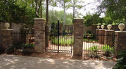 Wrought Iron Driveway Gates,  Iron Grills,  Entry Doors in Houston,  TX