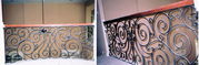 Install Wrought Iron Exterior Handrail,  Houston