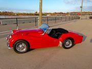 1959 Triumph TR3-AOD + Driving Lights + Weather Gear + Wire Wheels