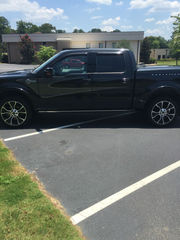2012 Ford F-150 4WD SuperCrew 145 Harley-Davidson